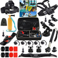 27 in 1 Accessories Kit for GoPro Hero 5 4 3 2 1 Action Camera Bundle Set SJCAM
