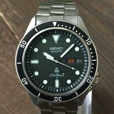 Seiko Silver Wave 7546 6060 Diver watch good condition from japan 254