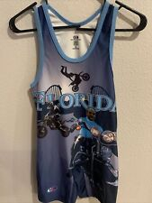 Cliff Keen Athletics Size Small Singlet Florida On The Front
