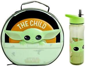 Star Wars 'The Mandalorian' Baby Yoda Lunch Bag and 600ml Bottle | Lunchbox