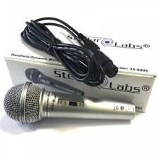 Dynamic Vocal Microphone For Recording Karaoke PA DJ Music Inc 3M Lead XLRF Jack