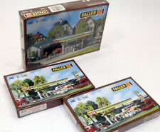 Faller BP Gas Station with (2) extra Fuel Islands  Model Kit 1/87 HO