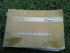 2002 CHEVY SILVERADO OWNER MANUAL