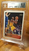 1996-97 Topps #138 Kobe Bryant Los Angeles Lakers RC Rookie w/10 BGS 8.5 NM-MT+
