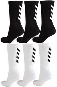 Hummel Damen und Herren Sport Socken Fundamental 3 Pack Sock Größe 36 - 48