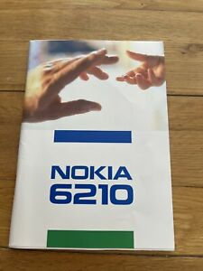 Nokia 6210 Official Manual Mobile Phone Documentation Book