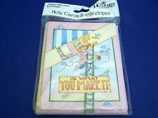 New Orig Mary Engelbreit Life is What you Make it Notecards & Envelopes 10 Each