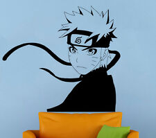 Naruto Wall Decal Japanese Manga Vinyl Sticker Kids Room Home Wall Art Decor 5nt