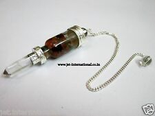 Bottle Vial Chakra Pendulum Crystal Ball Point Metaphysical Dowsing Healing Gift