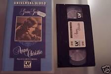 [1332] Anna Christie (1930) VHS UV rarissima Garbo Brown