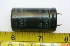 1PCS, 63V 4700UF Snap In  Electrolytic Capacitors