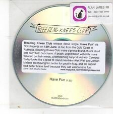 (DV7) Bleeding Knees Club, Have Fun (debut) - DJ CD