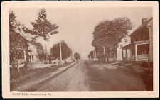 SOUDERSBURG PA East End Vintage B&W Vintage Lancaster County Postcard Early Old