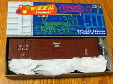 Roundhouse Ho #7868 (Rd #46655) Cb&Q 50' Single Sheath Boxcar Kit