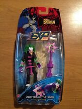 The Batman EXP Crazy Cut-Up The Joker Action Figure, New MOC (B64)
