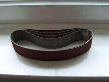 "Sealey sanding belts 1""x30"" ,BRILLIANT JOINTS.Also fit Clarke,Rexon 5 off 120g"