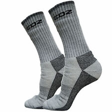 EDZ All Climate Thermal Motorcycle Boot Calf Length Socks Winter Warm Size 3-5
