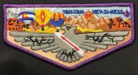 YAH-TAH-HEY-SI-KESS OA LODGE 66 BSA GREAT SOUTHWEST COUNCIL PURPLE PATCH FLAP