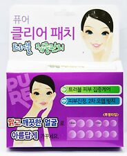 120 PATCHES Pure Clear in TWO SIZES Trouble Spot Acne Blemish Treatment