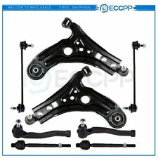 8PCS  Front Lower Control Arm Sway Bar Link Parts Fits 2004-2011 Chevrolet Aveo