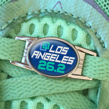 ONE (1) LA Los Angeles 26.2 Marathon Shoe Shoelace Charm Tag 2016 2017 2018