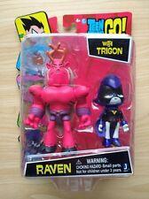 DC Comics TEEN TITANS GO! Action Figure 3'' RAVEN with trigon A65X