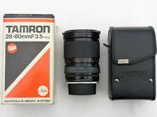 Tamron SP 28-80mm f3.5-4.2 CF Macro Zoom Lens Adaptall 2 (eg for Pentax K, LX)