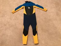 Rip Curl Childs  Wetsuit  Size 6Youth 3/2 Dawn Patrol E4 Preowned