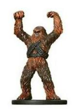 Star Wars miniatures 1x x1 Wookiee Soldier Rebel Storm NM with Card