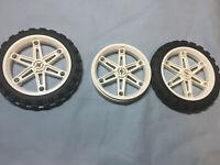 Vintage Lego Technic//Mindstorms Motorcycle Wheel Part 2903c01 81.6 x 15