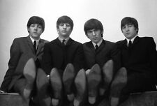 GEORGE HARRISON & RINGO STARR UNSIGNED PHOTO - 5157 - THE BEATLES