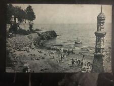 1928 Odessa RUSSIA USSR Real Picture Postcard Cover RPPC Arcadie Beach