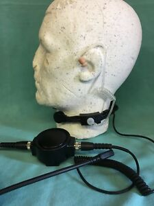 Tactical Throat Mic & Acoustic Tube + 2 Other Attachments Bargain