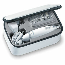 Beurer Manicure Pedicure Kit with Light & Electric Nail Drill and Foot Care Set