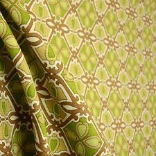 Green Brown Outdoor Fabric Drift Away Waverly