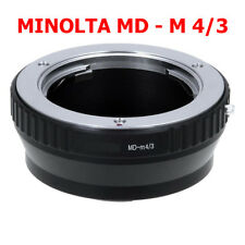 Minolta MD - M4/3 Micro MFT Objektivadapter MD Objektiv Lens an Panasonic Lumix