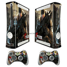 GOW war Skins Vinyl Sticker Decals Cover Case for xbox360 Console TX86