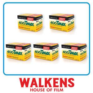 5 ROLLS - Kodak T-Max 400 35mm 36exp Camera Film - FLAT-RATE AU SHIPPING!