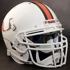 Schutt ROPO-DW Football Helmet Facemask - MIAMI HURRICANES