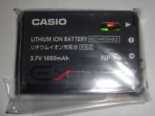 Batterie D'ORIGINE CASIO NP-70 Exilim Zoom EX-Z150GN