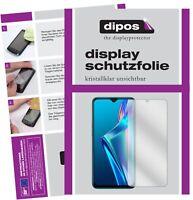 2x Folie für Oppo A12 Schutzfolie klar Displayschutzfolie Display Schutz dipos