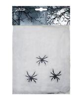 Toile d'araignées decoration halloween 20g cobweb deco fete maison accessoire