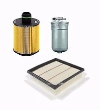 FOR VAUXHALL CORSA 1.3CDTi 75 94BHP SERVICE KIT OIL/AIR/DIESEL FILTER 11> ON