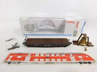 CJ144-0,5 # Märklin Mhi H0 / AC 84866 Wagon Plat Cloche Salmmp Dr Kk ,Mint + Box