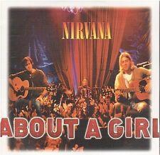 NIRVANA about a girl CD SINGLE card sleeve NEUF new neu
