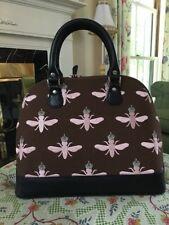 "Brighton ""My Flat in London"" Queen Bee Bowling Bag Handbag Purse"