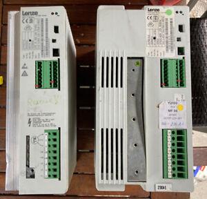 2x Lenze Frequenzumrichter Output: 3/AC 0-400V 7,3A 0,75kW Und 5,5kW