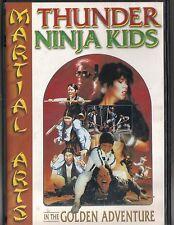 THUNDER NINJA KIDS IN THE GOLDEN ADVENTURE~1992 VG/C RARE DVD~SOPHIA CRAWFORD