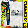 PANTALONE COMPLETO ACERBIS HELLBLAST LIMITED EDITION GIALLO BLU FLUO MOTOCROSS