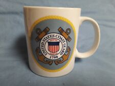 United States Coast Guard Mug Military Semper Paratus Crest Seal Emblem Anchor